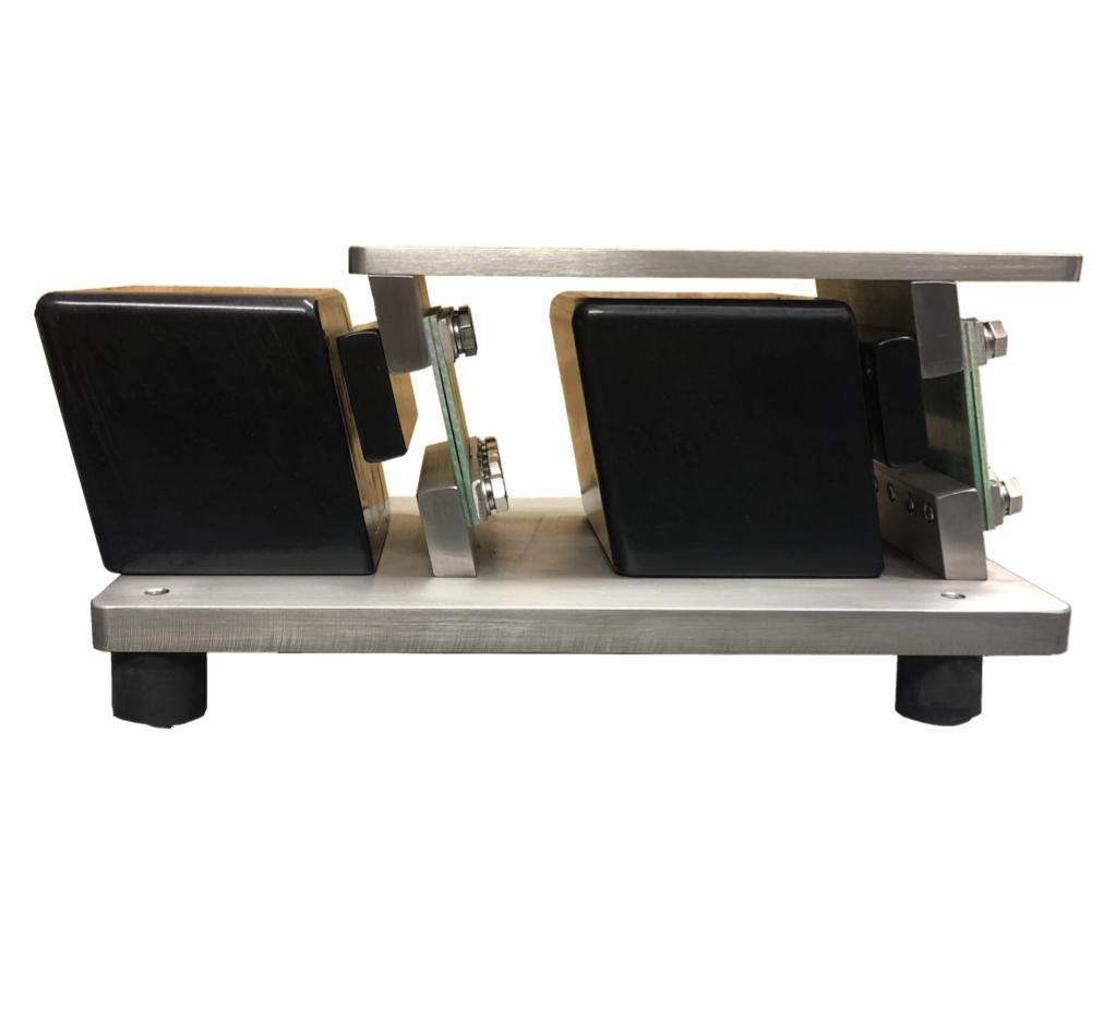 Side Profile of V2 Electromagnetic Linear Vibrator for feeder packaging system